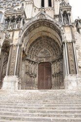 VISIT TO THE CATHEDRAL OF CHARTRES