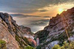 CONNECTION WITH NATURE IN THE MOUNTAIN OF MONTSERRAT